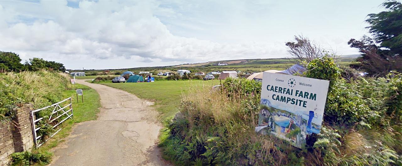 Camping Caerfai Farm