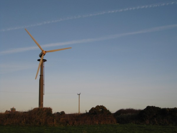 Star of the small screen – Wyn Evans and his renewables!
