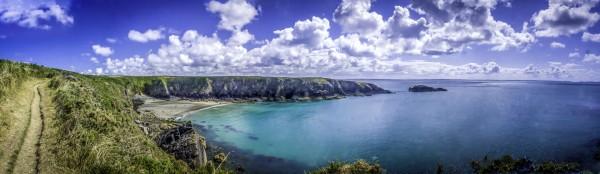 Caerfai Bay Panorama